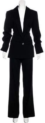 Christian Dior Wool Structured Pantsuit