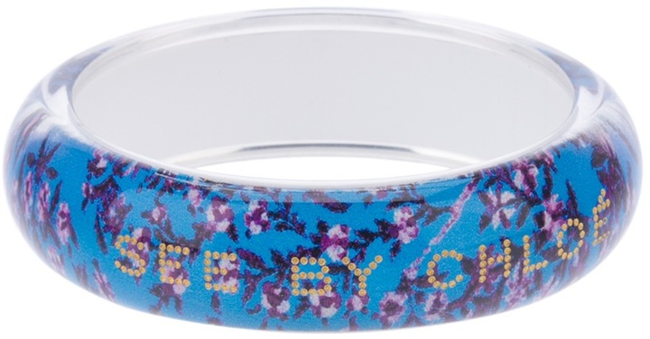 See by Chloe floral bangle