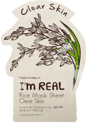 Tony Moly TONYMOLY I'm Real Rice Mask Sheet Clear Skin