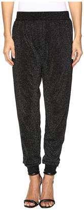 Wolford Lurex Knit Trousers Women's Casual Pants