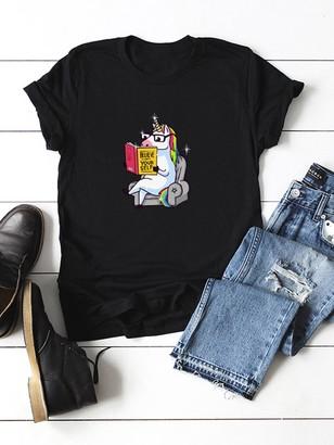 303b9ba768 Cuffed Sleeve Tshirt - ShopStyle