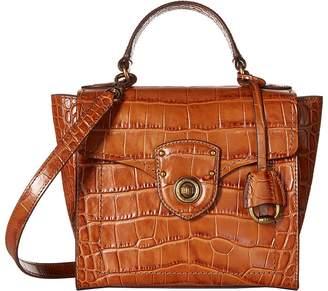 Lauren Ralph Lauren Millbrook Top Handle Crossbody Satchel Handbags