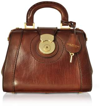 At Italist The Bridge Rufina Small Leather Doctor Bag