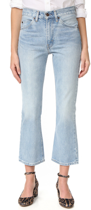 Levi's 517 Cropped Boot Cut Jeans $98 thestylecure.com
