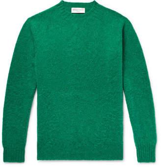 Officine Generale Mélange Shetland Wool Sweater