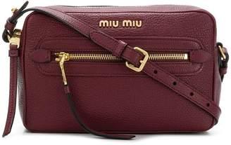 Miu Miu logo camera bag