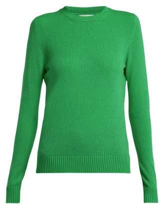Barrie - Arran Pop Cashmere Sweater - Womens - Green