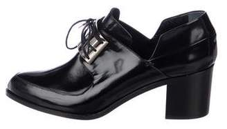 Jason Wu Leather Pointed-Toe Oxfords