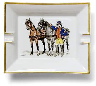Banana Republic LUXE FINDS | Hermès White Horse & Rider Catchall