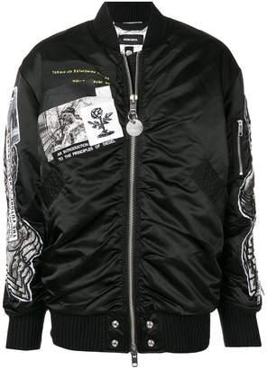 Diesel G-Krista-C bomber jacket