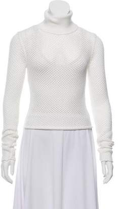 A.L.C. Perforated Turtleneck Top w/ Tags