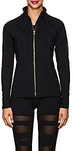Electric Yoga WOMEN'S POISON HEAVYWEIGHT JERSEY JACKET - BLACK SIZE L