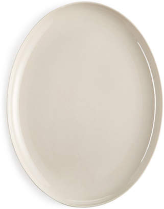 Hotel Collection Closeout! Modern Serveware Porcelain Bisque Oval Platter, Created for Macy's