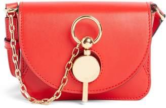 J.W.Anderson Nano Lock Leather Convertible Crossbody Bag