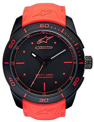 Alpinestars Unisex-Adult Analogue Classic Quartz Watch with Silicone Strap 1037-96006