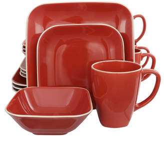 Square Dance 16 Piece Dinnerware Set
