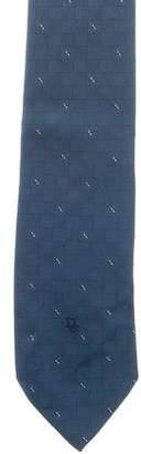 Christian Dior Jacquard Woven Tie