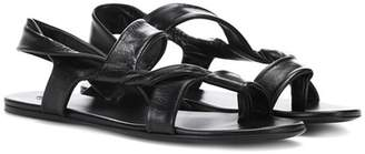 The Row Giada leather sandals