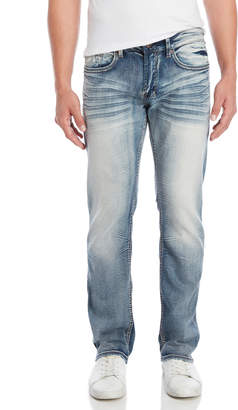 Buffalo David Bitton Six-X Basic Slim Straight Stretch Jeans