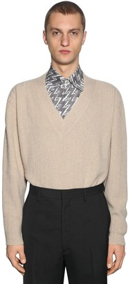 Fendi Oversize Cashmere Knit Sweater