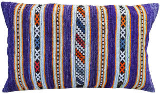 One Kings Lane Vintage Striped Moroccan Pillow - The Moroccan Room