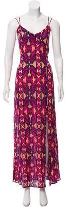 Vix Paula Hermanny Patterned Maxi Dress w/ Tags