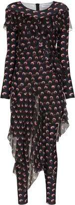 Marine Serre moon print jumpsuit dress