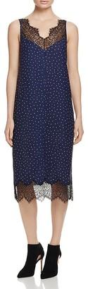 Whistles Martha Lace Trim Dress - 100% Exclusive $420 thestylecure.com