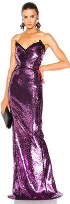Thierry Mugler Sequin Mermaid Gown