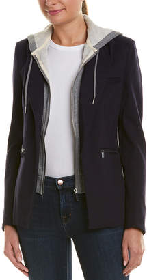 Bagatelle Detachable Hood Blazer