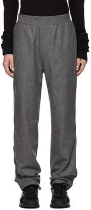 Anton Belinskiy Grey Vinyl Lounge Pants