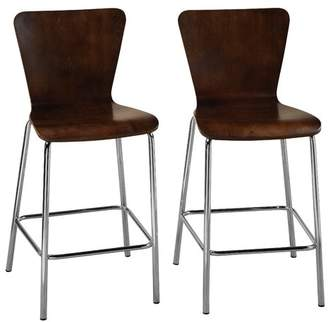 "Latitude Run Viqueque Bentwood 24"" Bar Stool"