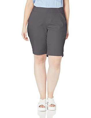 Jag Jeans Women's Plus Size Gracie Pull on Bermuda Short