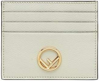 Fendi logo card holder