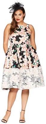 Unique Vintage Plus Size Shrimpton Swing Dress Women's Dress