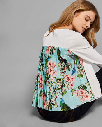 Ted Baker FERLISS Nectar pleated back cardigan