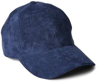 Gap Faux Suede Baseball Hat