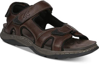 Dr. Scholl's Men's Hayden Leather Sandals Men's Shoes