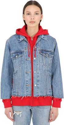 Levi's Layered Cotton Sweatshirt & Denim Jacket