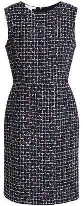 Oscar de la Renta Embellished Bouclé-Tweed Dress