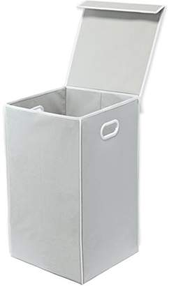 Laundry by Shelli Segal Simplehouseware Foldable Laundry Hamper Basket with Lid