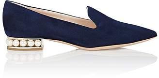 Nicholas Kirkwood Women's Casati Suede Loafers $695 thestylecure.com