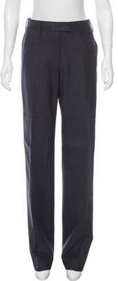 Reed Krakoff Wool Mid-Rise Pants