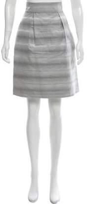 Peter Som Woven Knee-Length Skirt
