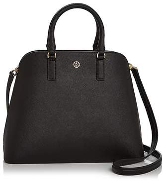 Tory Burch Robinson Leather Dome Satchel