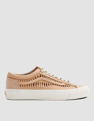 Vans Vault By Twisted Leather Style 36 LX Sneaker in Amberlight/Marshmallow