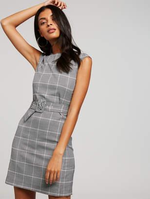 Portmans Australia Check Belted City Dress