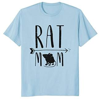 Rat Mom - Funny Retro Pet Mouse Rat or Rodent Gift T-Shirt