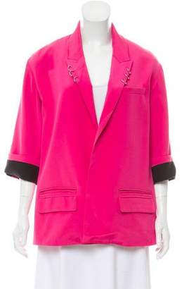 Alexander Wang Silk Cut-Out Blazer