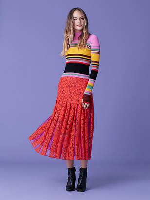 Diane von Furstenberg Dara Striped Pullover